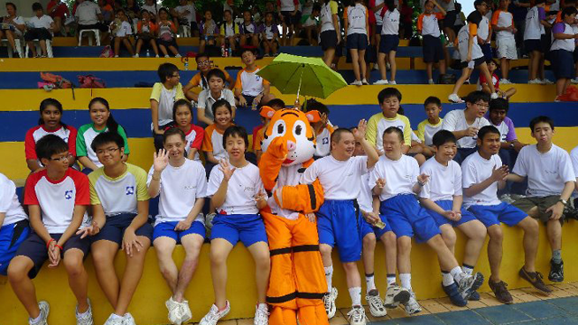 Sports Day @ Guangyang Secondary School 2011